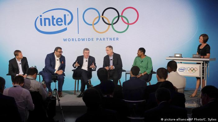 USA Pressekonferenz Intel IOC in New York (picture-alliance/AP Photo/C. Sykes)