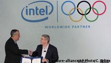 USA Pressekonferenz Intel IOC in New York
