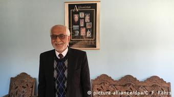 Ο Ομάρ Καν Μασούντι, πρώην διευθυντής του Εθνικού Μουσείου της Καμπούλ