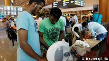 Singapur Hilfsarbeiter