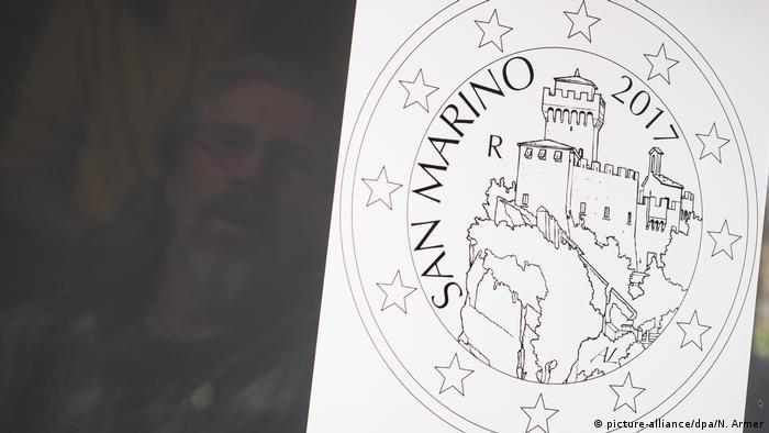 Gemünder gestaltet Euromünzen für San Marino (picture-alliance/dpa/N. Armer)