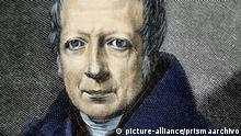 Wilhelm von Humboldt (1767–1835). German government functionary, diplomat, philosopher and linguist. Colored engraving. |