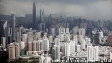 China Shenzhen Wolkenkratzer (picture-alliance/Imaginechina/Ri Xi)