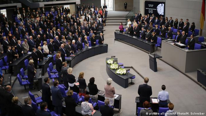 Bundestag Gedenken an Helmut Kohl (picture-alliance/AP Photo/M. Schreiber)
