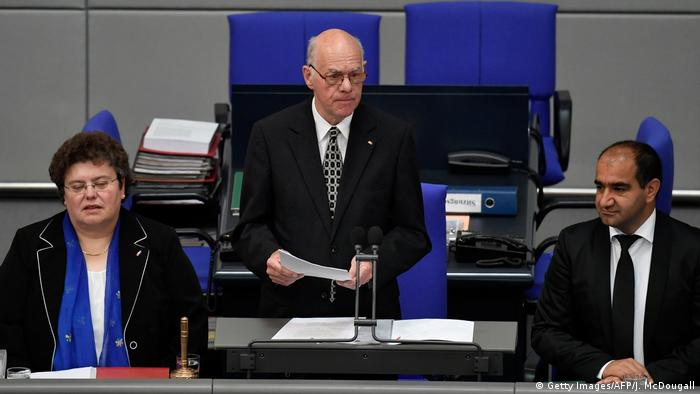Bundestag - Gedenken an Helmut Kohl (Getty Images/AFP/J. McDougall)