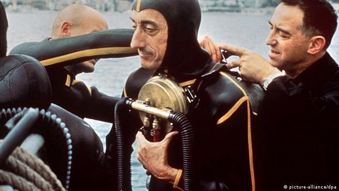 Frankreich Jacques Cousteau und seine Erfindungen (picture-alliance/dpa)