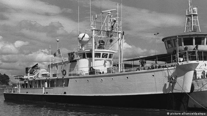 Frankreich Jacques Cousteau und seine Erfindungen (picture-alliance/dpa/epa)