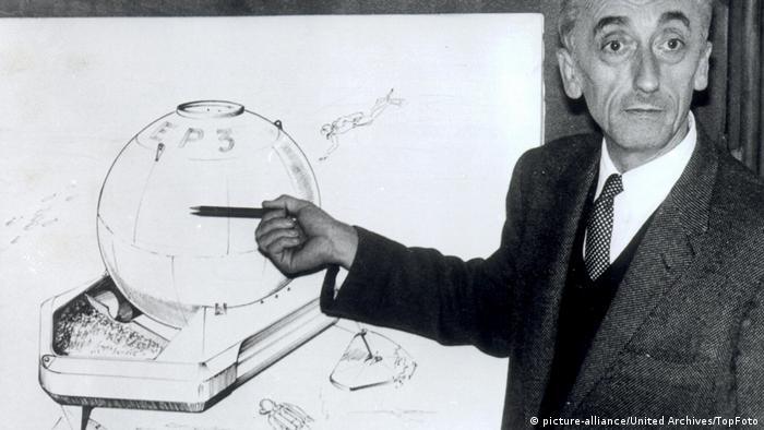 Frankreich Jacques Cousteau und seine Erfindungen (picture-alliance/United Archives/TopFoto)