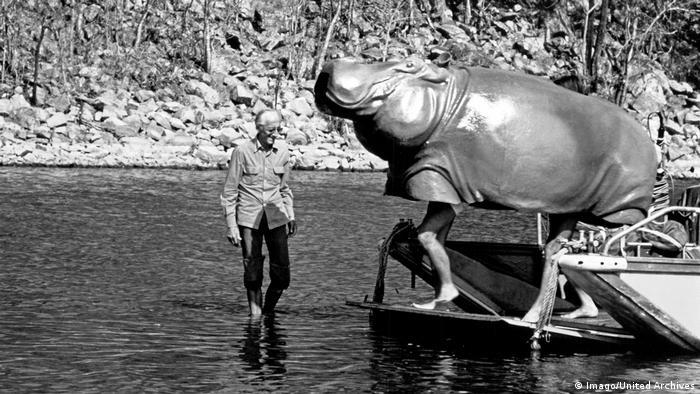 Frankreich Jacques Cousteau und seine Erfindungen (Imago/United Archives)