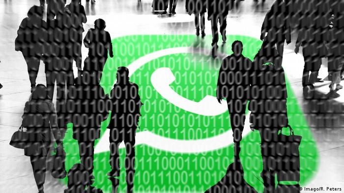 Symbolbild Staatstrojaner Whatsapp