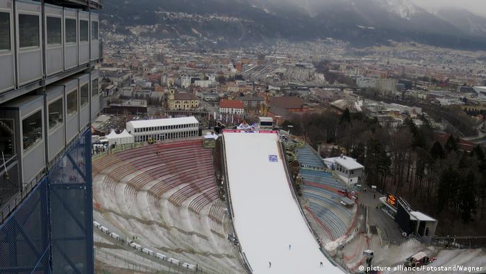 Österreich Bergiselschanze in Innsbruck