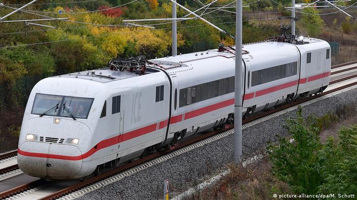 Deutschland neue ICE-Strecke Berlin - München