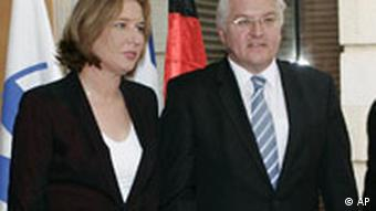 وزیران خارجه اسرائیل (چپ) و آلمان در دیدار اشتاینمایر از اسرائیل