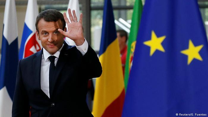 Bruksela: prezydent Francji rozmawiał z Wyszehradem