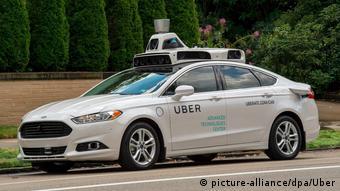 Самоуправляемое такси Uber