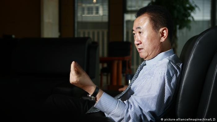 China Wang Jianlin, Chairman der Dalian Wanda Group (picture-alliance/Imaginechina/L Zi)