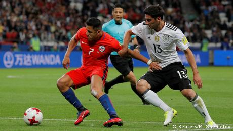 Deutschland vs. Chile - FIFA Confederations Cup Russia 2017 - Group B (Reuters/M. Shemetov)