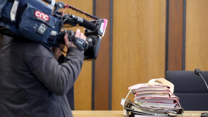 Deutschland Kamera im Gerichtssaal