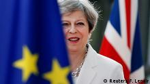 Belgien - May auf dem EU Gipfel in Brüssel