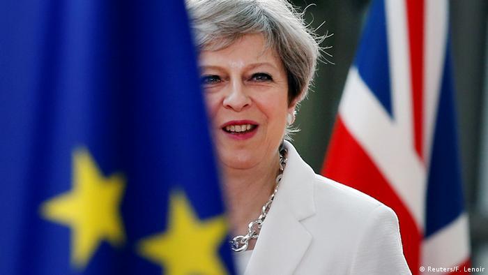 Belgien - May auf dem EU Gipfel in Brüssel (Reuters/F. Lenoir)