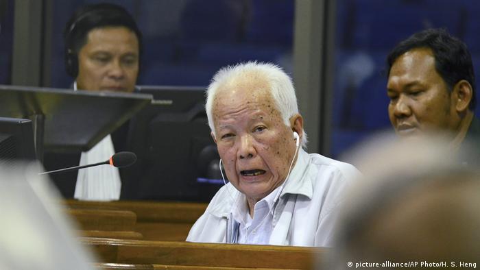 Kambodscha Phnom Penh Prozess Khieu Samphan