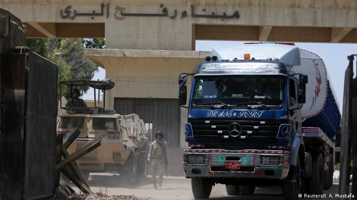 Gazastreifen Diesellieferungen aus Ägypten