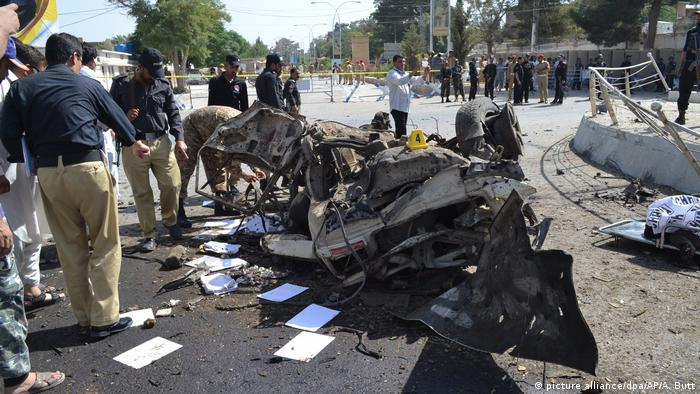 Pakistan - Bombenanschlag in Quetta (picture alliance/dpa/AP/A. Butt)
