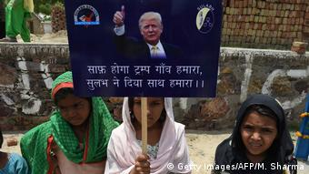 Indien Marora Dorf nennt sich Trump Village (Getty Images/AFP/M. Sharma)