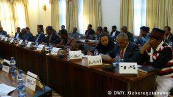 Äthiopien Verhandlungsrunde zwischen Regierung und Opposition
