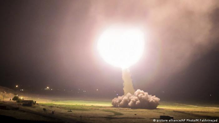 Iran Raketenabschuss auf IS in Syrien