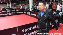 China Tischtennis Nationaltrainer Liu Guoliang