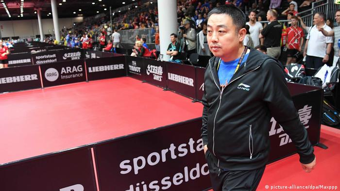 China Tischtennis Nationaltrainer Liu Guoliang (picture-alliance/dpa/Maxppp)