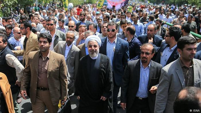 Iran, Präsident Hassan Rohani (ISNA)