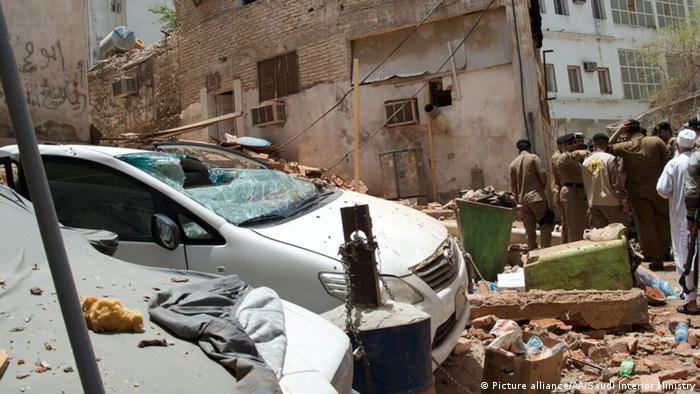 Terror-Anschlag in Mekka verhindert (Picture alliance/AA/Saudi Interior Ministry)