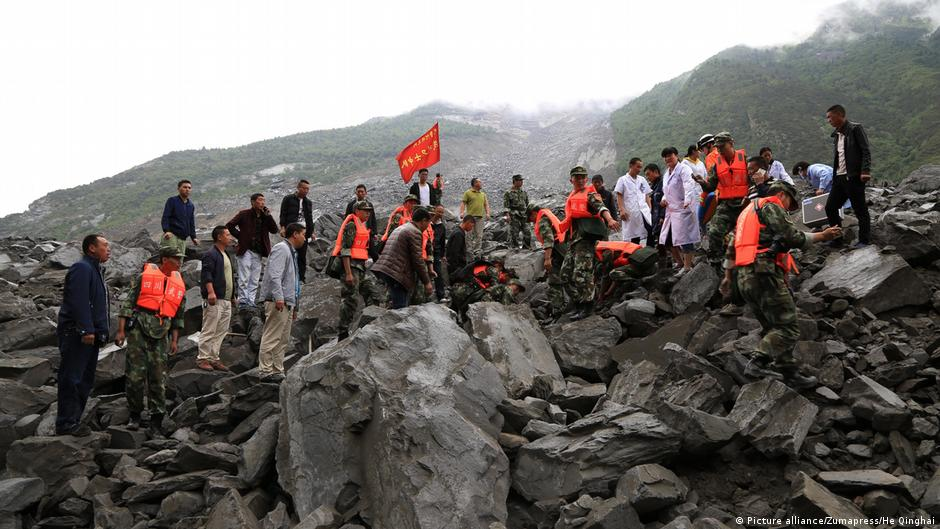 Over 120 people feared dead in China landslide   News   DW   24.06.2017
