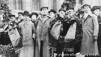 Beisetzung Karl Liebknechts