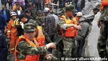 China Erdrutsch in Xinmo