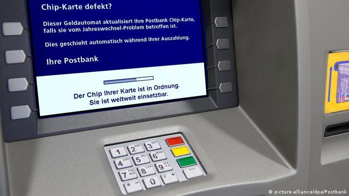 Банкомат банка Postbank