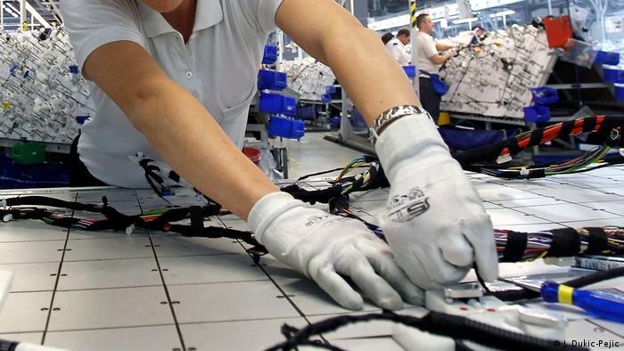 Serbien Reportage Elektronikindustrie in Nis