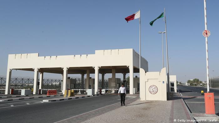 مرز دو کشور قطر و عربستان سعودی، حفر کانال سلوی عملا باعث قطع پیوند خشکی دو کشور میشود