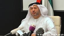 VAE Außenminister Anwar Gargash