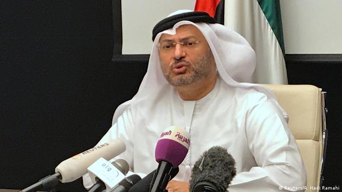 VAE Außenminister Anwar Gargash (Reuters/A. Hadi Ramahi)