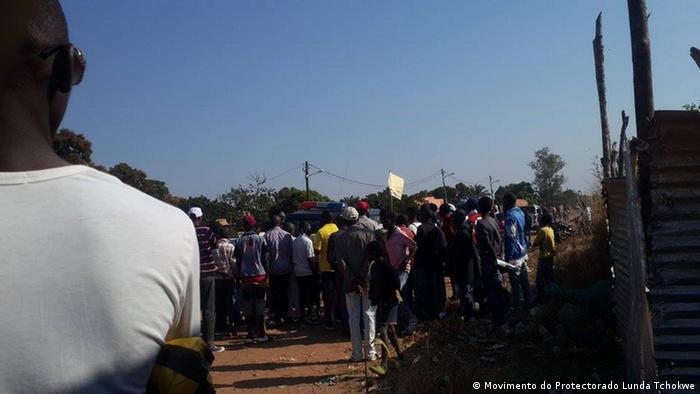 Foto de arquivo (2017): Polícia reprime com violência manifestações do Movimento Protectorado Lunda Tchokwe