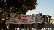 Angola | gewaltsamer Polizeieinsatz während einer Demonstration des Lunda Tchokwe Protectorate Movement