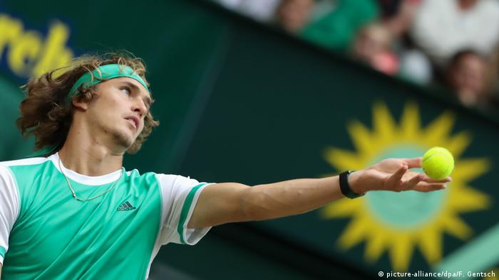 Tennis | ATP Halbfinale in Halle | Alexander Zverev vs. Richard Gasquet