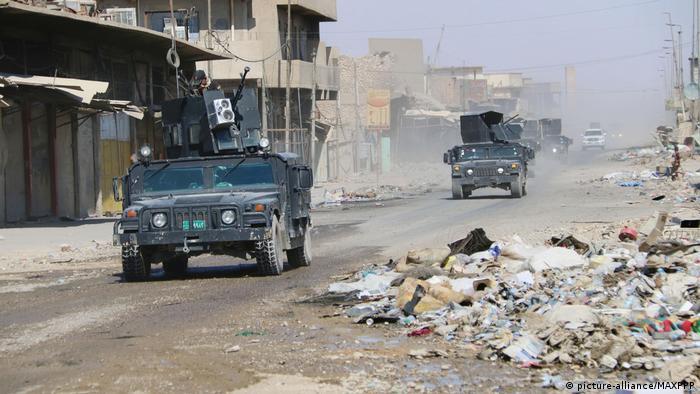 A luta em Mossul