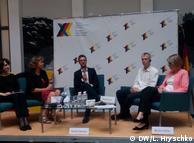 Зустріч учасників проекту Ukraine Сalling відбулась у посольстві ФРН в Києві.