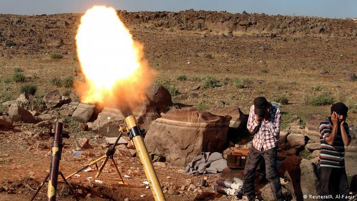 Syrien Rebellenkämpfer