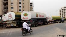 Pakistan Tanklastwagen in Karachi