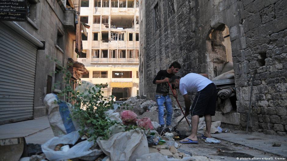 Aleppo  Rikthim në qytetin e shkatërruar